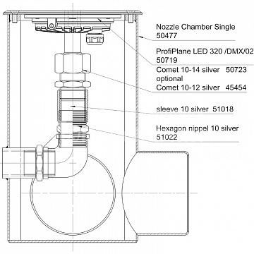 Nozzle Chamble Single